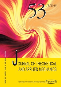 Journal Of Theoretical And Applied Mechanics - kwartalnik - prenumerata półroczna już od 40,00 zł